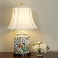 Window Treatments For Living Room Design Ideas Small Rooms Floral Peacock Porcelain Table Lamp
