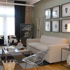 Sofa Art Gallery Lips Designer Over Contemporary Living Room Hgtv