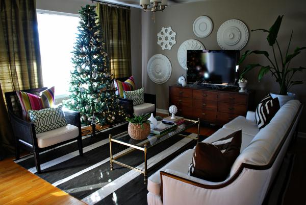 Living Room Sherwin Williams Perfect Greige