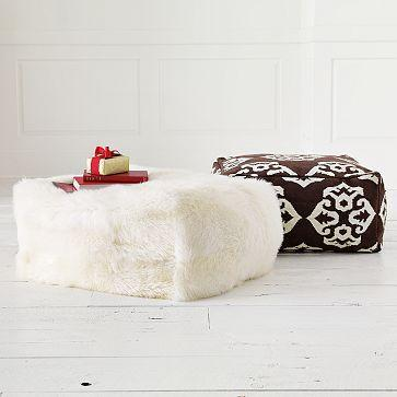 living room rug sets centerpiece for table white sheepskin cubed pouf