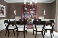 Whitall Brown - Transitional - dining room - Benjamin ...