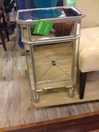 Home Goods Mirrored Nightstand - miscellaneous