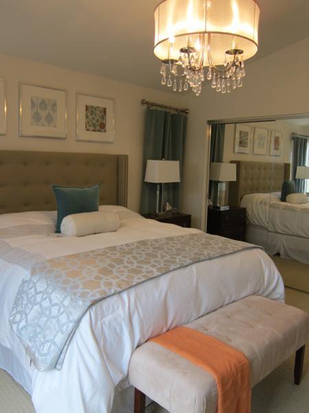 Nate Berkus Headboard  Contemporary  bedroom  Dunn