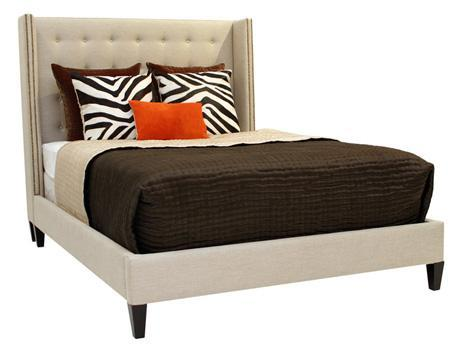 Juliet Dove Upholstered Bed
