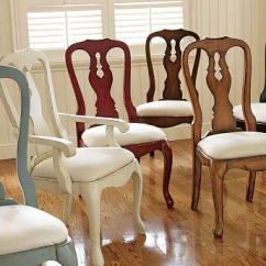 Queen Anne Dining Chair Outside Rocking Chairs Pottery Barn L4l!