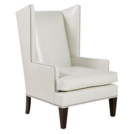 white leather wingback chair beach towels with pockets eggshell l4l 799 00 overstock malia
