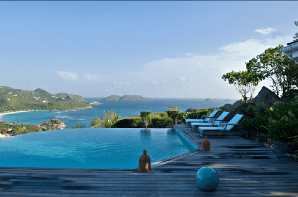 Infinity Pool Contemporary  pool