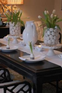 Easter Table Setting - Asian - dining room - Benjamin ...