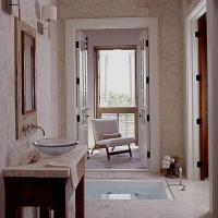 In Ground Bathtub - Eclectic - bathroom - My Home Ideas