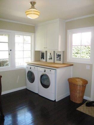 Laundry Room  Farrow and Ball Fawn