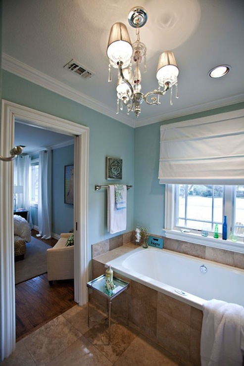 black parsons chair ikea snille spa blue paint color - contemporary girl's room sherwin williams at home in arkansas