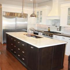 Black Kitchen Islands Old Sink With Drainboard White Dove Cabinets - Traditional Benjamin ...