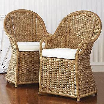 wicker patio chair cushions swing with stand malaysia set of 2 ashton side chairs - ballard designs