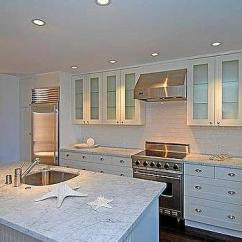Soapstone Kitchen Countertops Polished Nickel Bridge Faucet Beachy Seaside Design Ideas