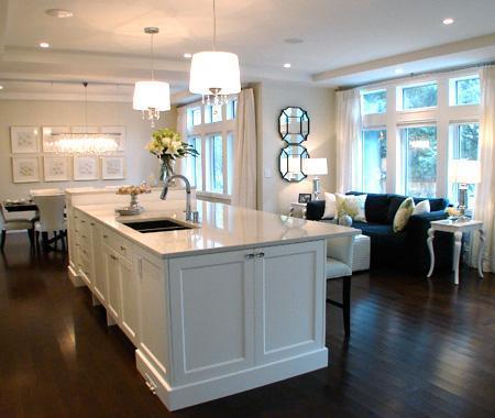 White Granite Countertops  Contemporary  kitchen  House