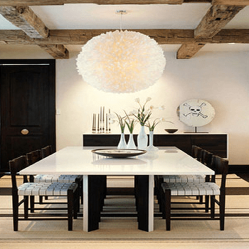 Oversized Square Dining Table Design Ideas