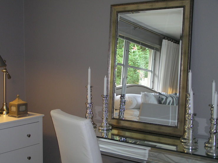 Gray Paint Colors  Transitional  bedroom  ICI Dulux