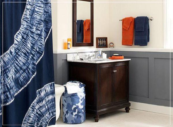 white and grey living room modern chairs cheap pbteen tie-dye blue orange bathroom