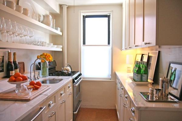 Galley Kitchen Contemporary Kitchen Ron Marvin