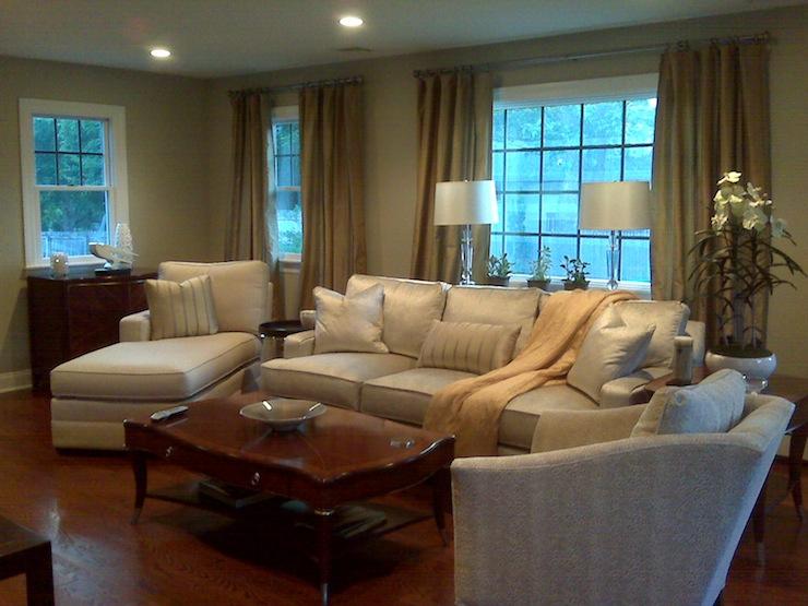 coastal design living room elegant small decor - benjamin moore path