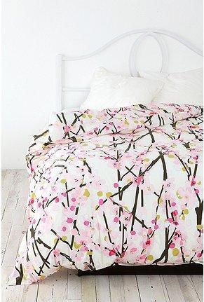 UrbanOutfitterscom  Cherry Blossom Duvet Cover