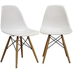 chairs 4 less rolling kitchen eames molded plastic dowel leg chair look view full size