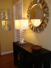Home Goods Mirror and Home Goods Lamp