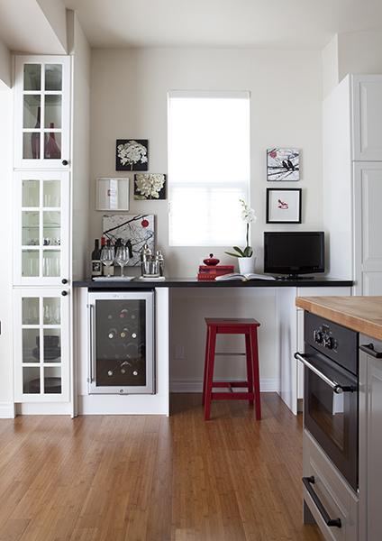 kitchen desk heat lamps transitional samantha pynn