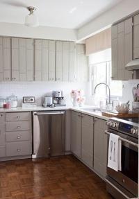 Gray Kitchen Cabinets - Contemporary - kitchen - Samantha Pynn