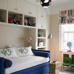 Royal Blue Living Room Chairs Rooms Decorated In And White Daybed - Contemporary Boy's Katie Ridder