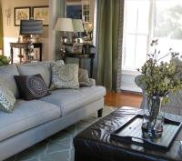 Contemporary Family Room -- Formal and Casual Mix - Living ...