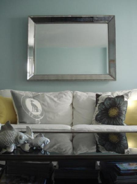wall mirror living room beds in bright makeover for new construction - designs ...