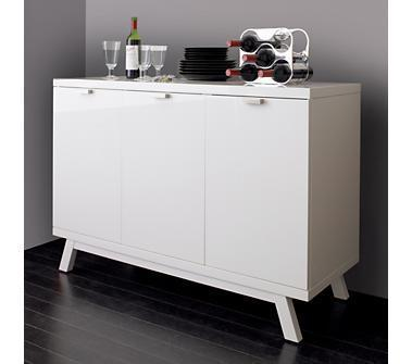 mirrored cabinets living room brown suite ideas crate and barrel - ypsilon sideboard shopping in ...