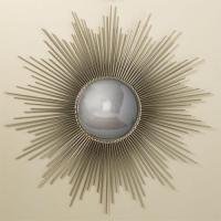 Silver Sunburst Mirror Look 4 Less!