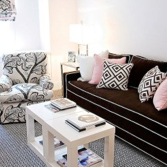 Black Parsons Chair Redman Power Reviews End Table - Contemporary Living Room Christina Murphy Interiors