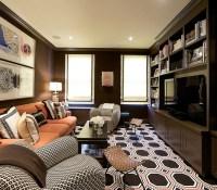 Brown Media Cabinets - Contemporary - media room ...