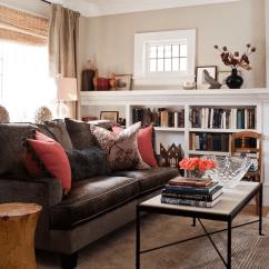 Living Room Designs Chocolate Brown Sofa Staircase Velvet Transitional Jennifer Worts Design