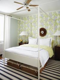 Ikea Edland - Contemporary - bedroom - Farrow & Ball Pale ...