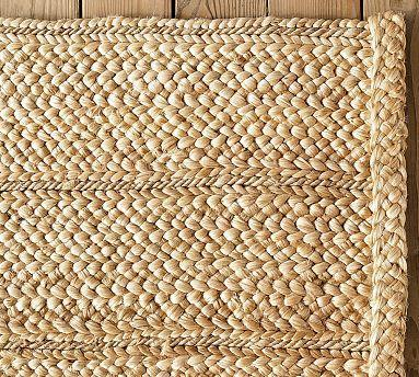 FlatBraided Jute Rug  Pottery Barn