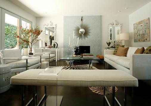 Bracelona Coffee Table  Contemporary  living room
