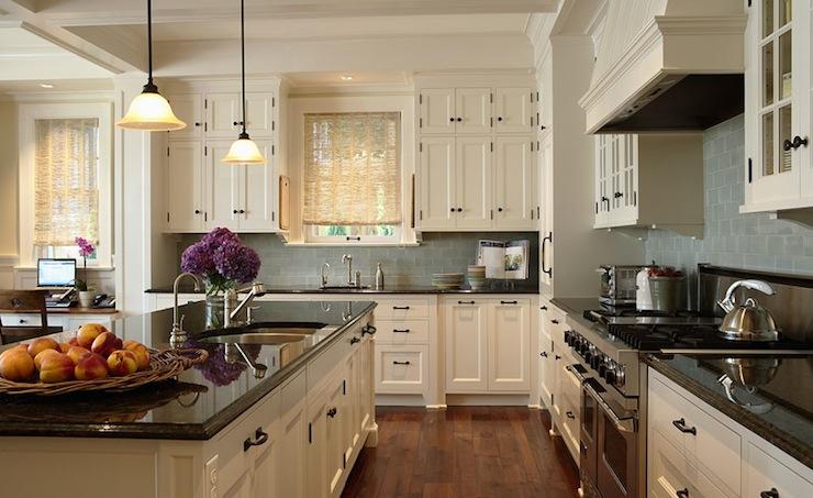 roller kitchen island farmhouse sink ivory countertops design ideas