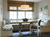 Built In Banquette - Contemporary - dining room - Ashley ...