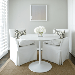 Slip Cover Chairs Ergonomic Chair Price Imperial Trellis Pillows - Contemporary Dining Room Ashley Goforth Design