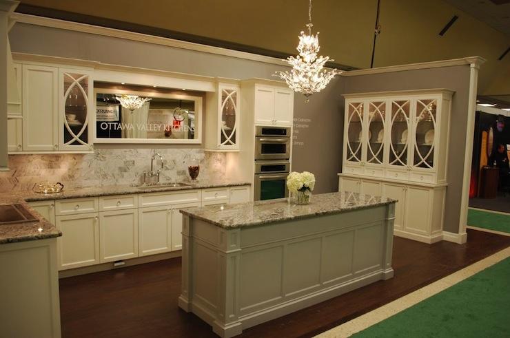 Cream Cabinets  Transitional  kitchen