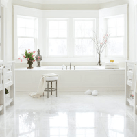 Bay Window In Bathroom Design Ideas