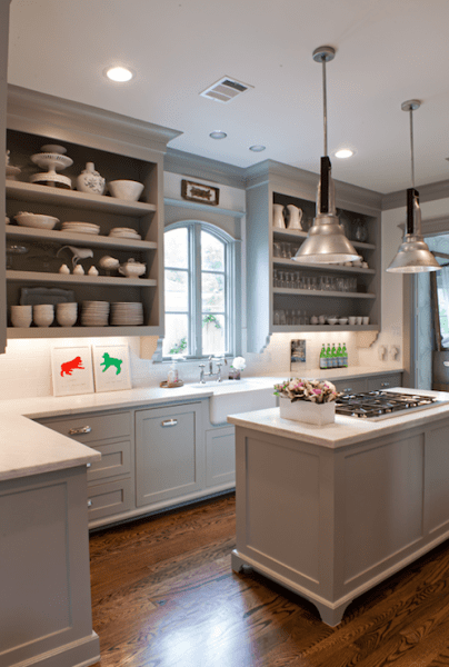 best color for gray kitchen cabinets Gray Kitchen Cabinet Colors Design Ideas