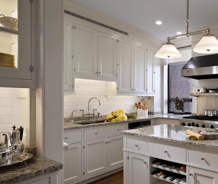 Granite Countertops Transitional Kitchen Cullman & Kravis