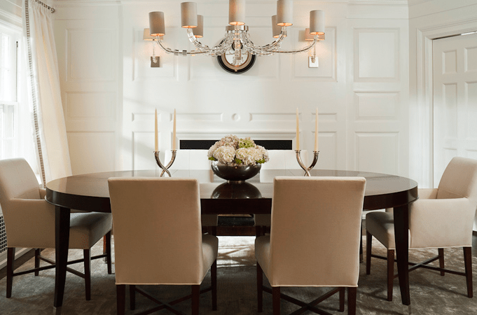 Oval Dining Table Design Ideas