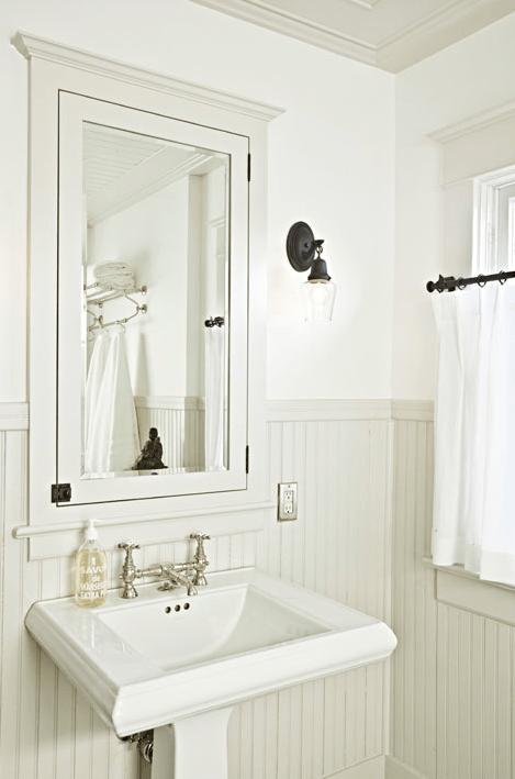 Bathroom Beadboard  Cottage  bathroom  BHG