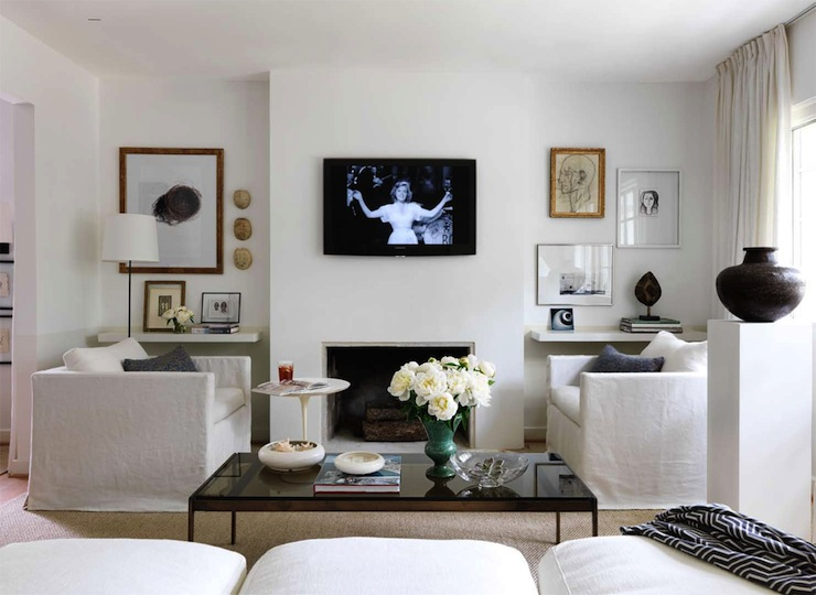 Sofas Facing Each Other  Contemporary  living room